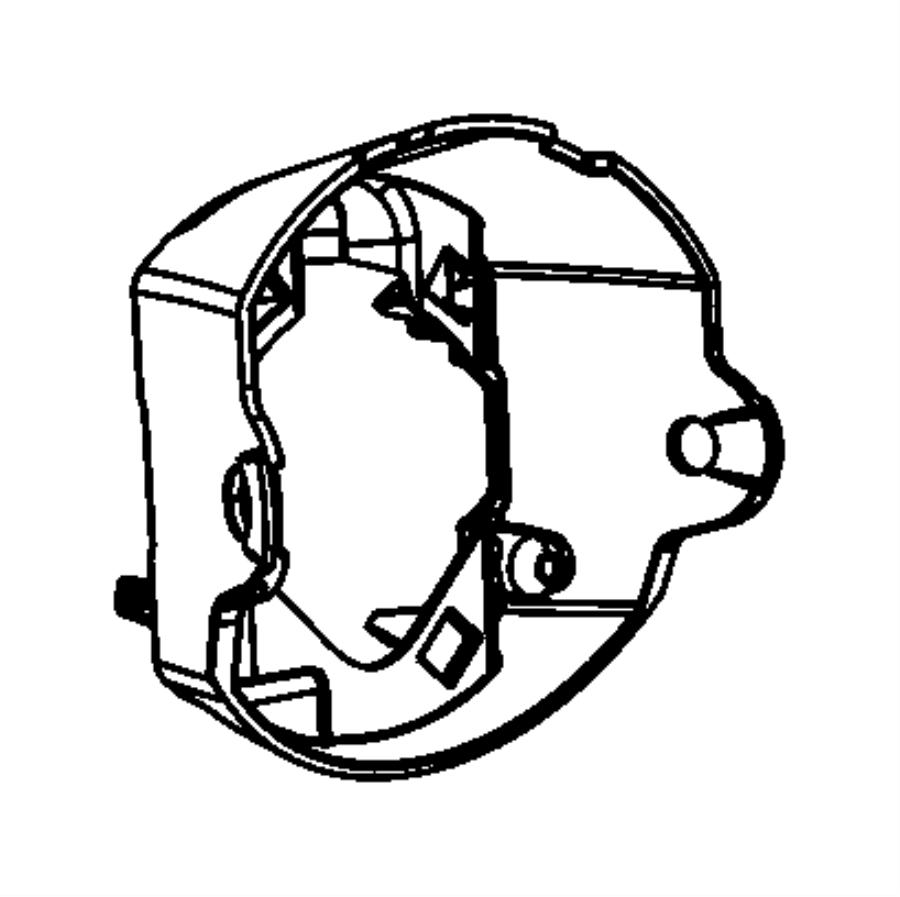 2013 dodge durango bracket  fog lamp  left  front  speed  adaptive