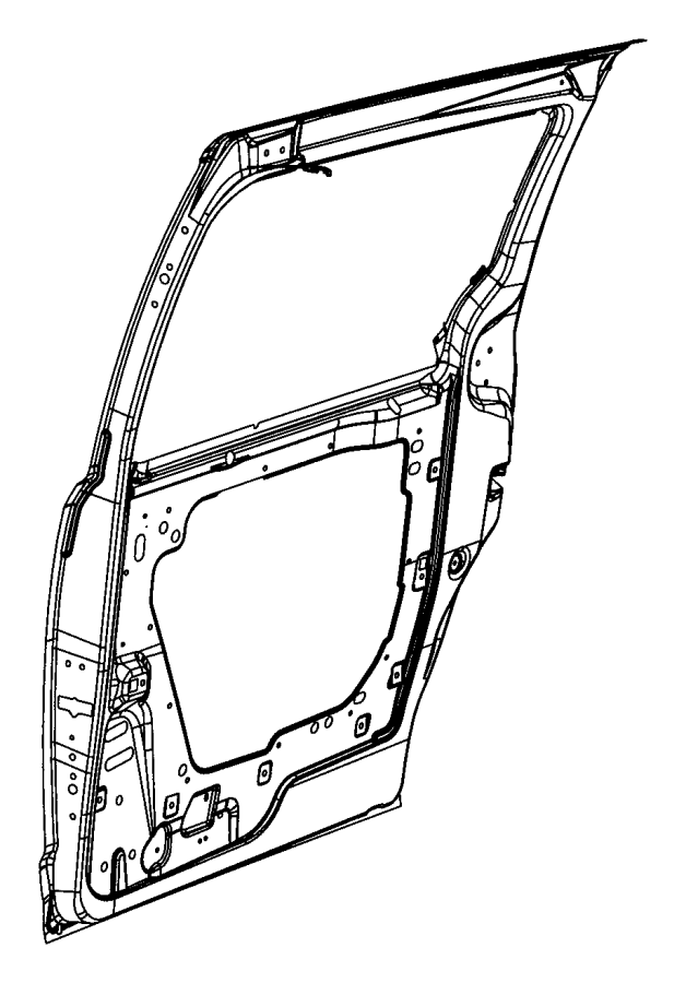 Dodge Caravan Sliding Door Parts