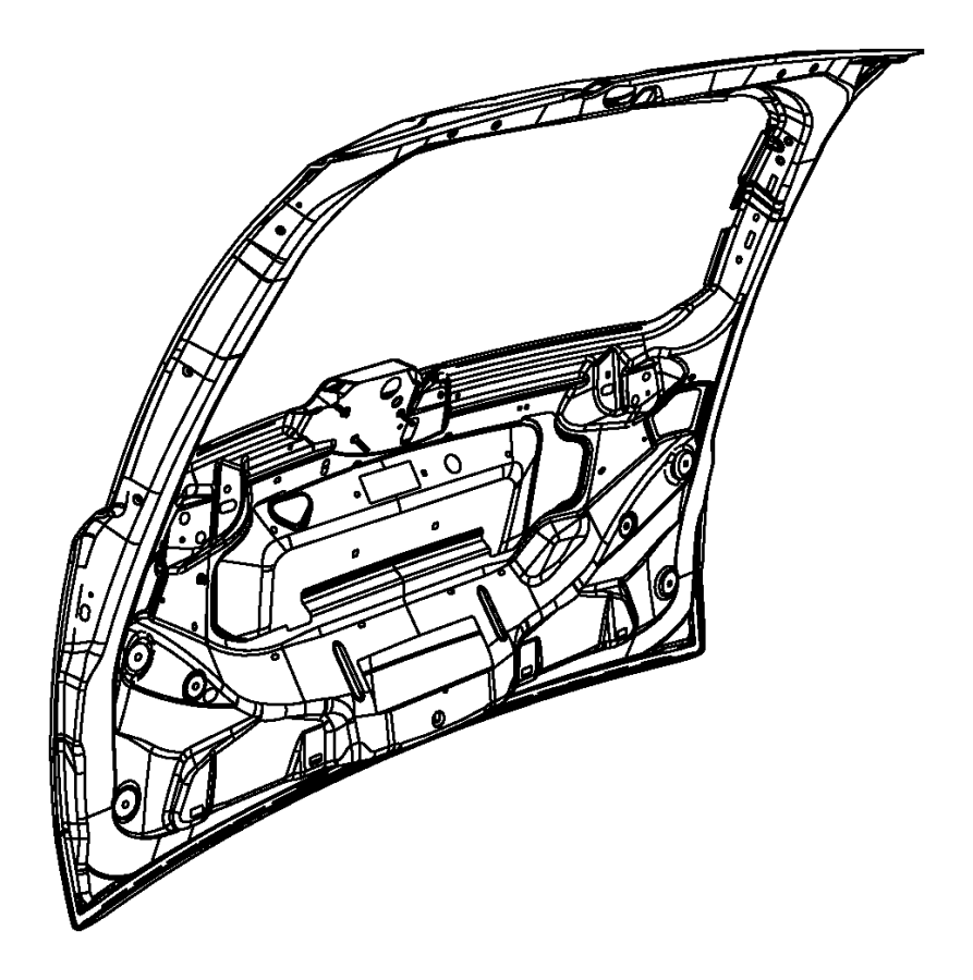 2015 chrysler town  u0026 country liftgate