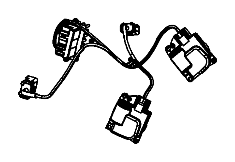 2014 chrysler town  u0026 country wiring  used for  a  c and heater  zone  temp  rear