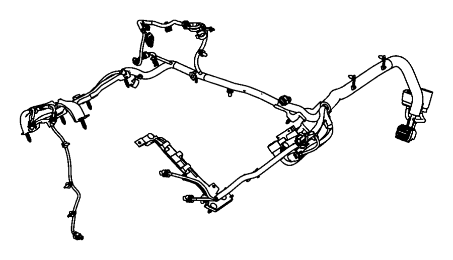 dodge grand caravan wiring  jumper  has variable valve timing connectors and one ngc connector