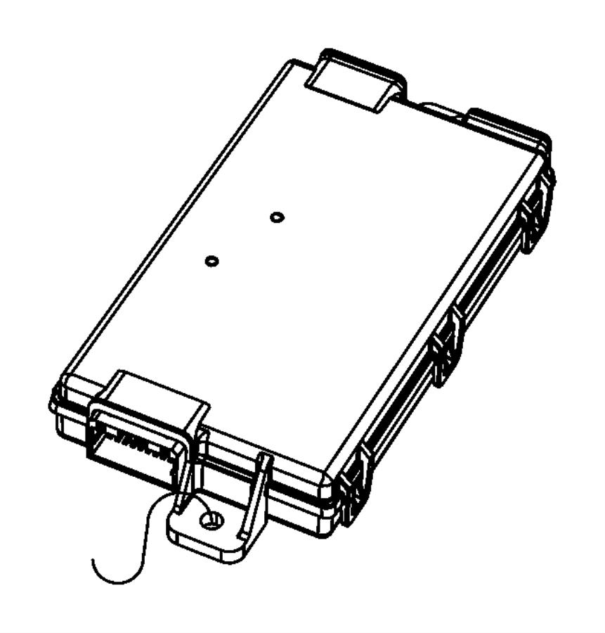 2012 chrysler 300 receiver  hub    keyless go  remote proximity keyless entry     gxd