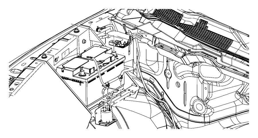 2012 dodge ram 3500 wiring  battery positive