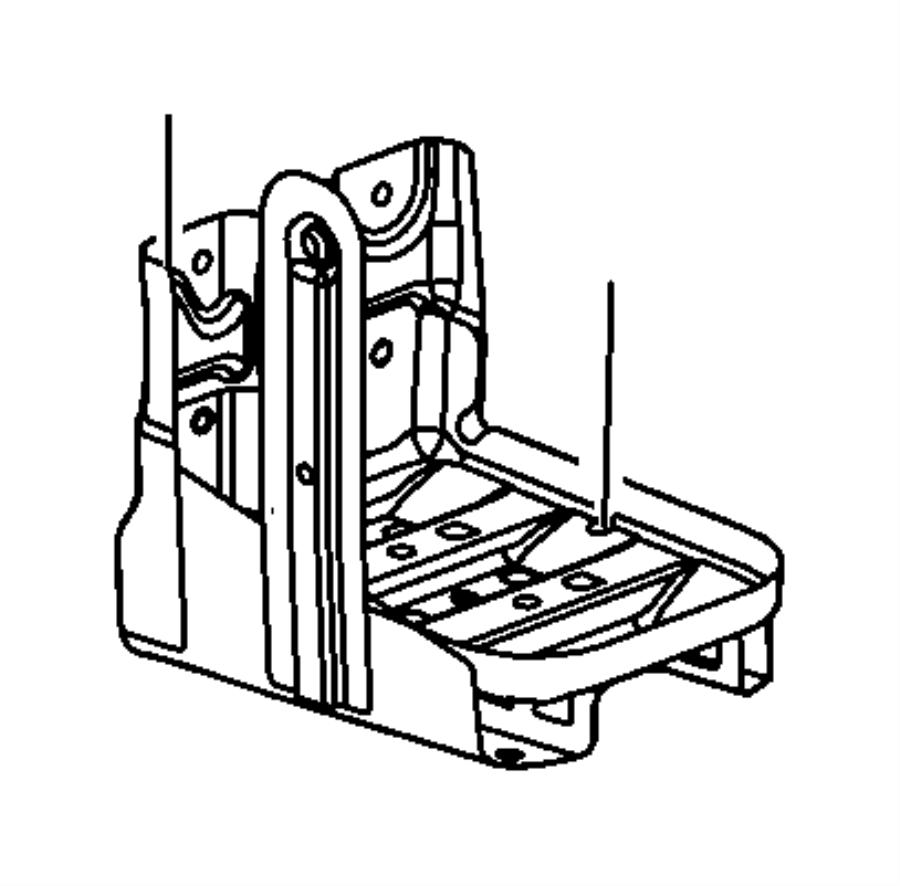 2009 dodge journey tray  battery  maintenance