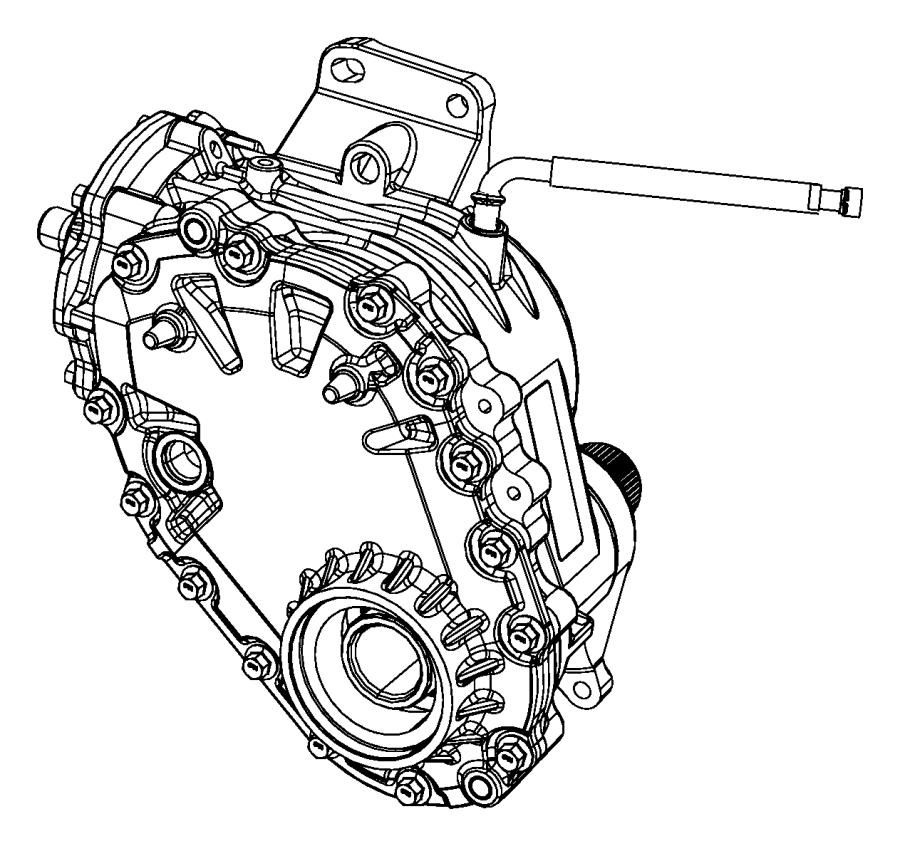 2012 dodge journey hose  axle vent  power  transfer  unit