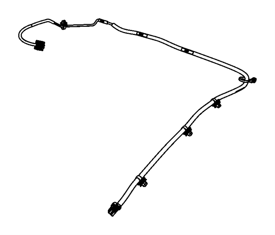 2012 chrysler 200 wiring  mirror jumper   rr view auto dim mirror w  microphone