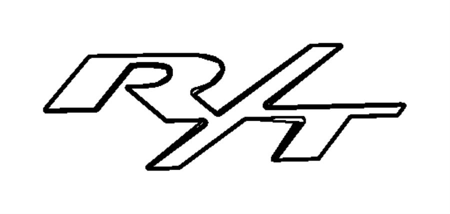 2009 chrysler sebring nameplate  r  t