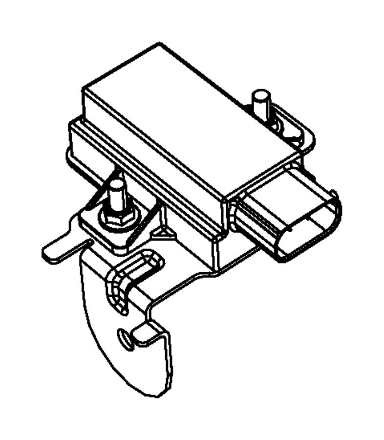 2009 dodge nitro module  trigger  tire pressure  tire