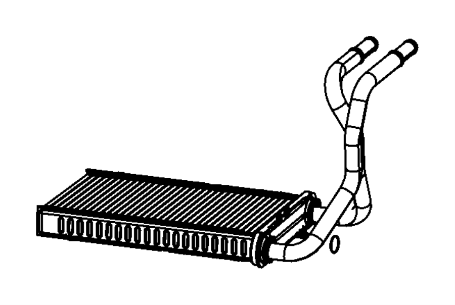 2009 Dodge Nitro Core  Heater  Air  Conditioning  Panel