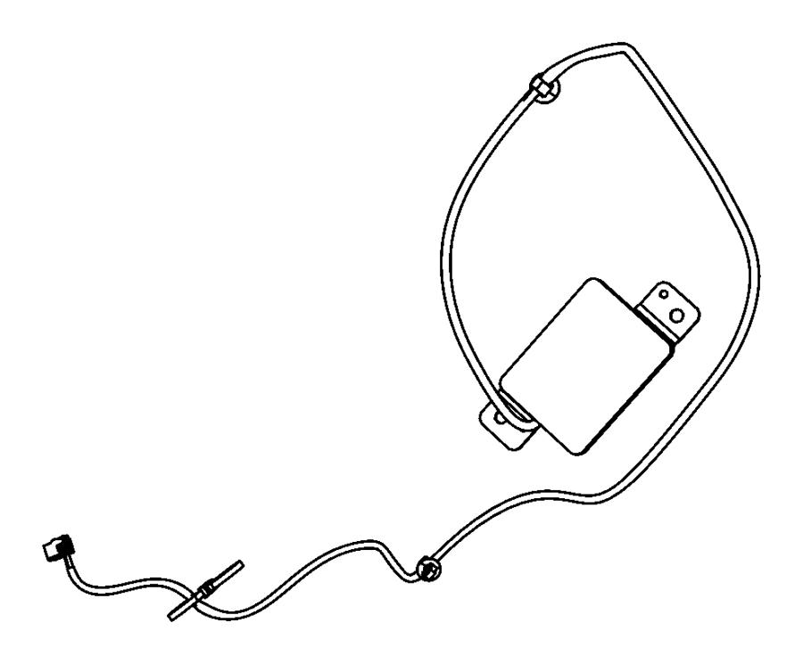 2012 jeep patriot antenna  keyless entry  system  start