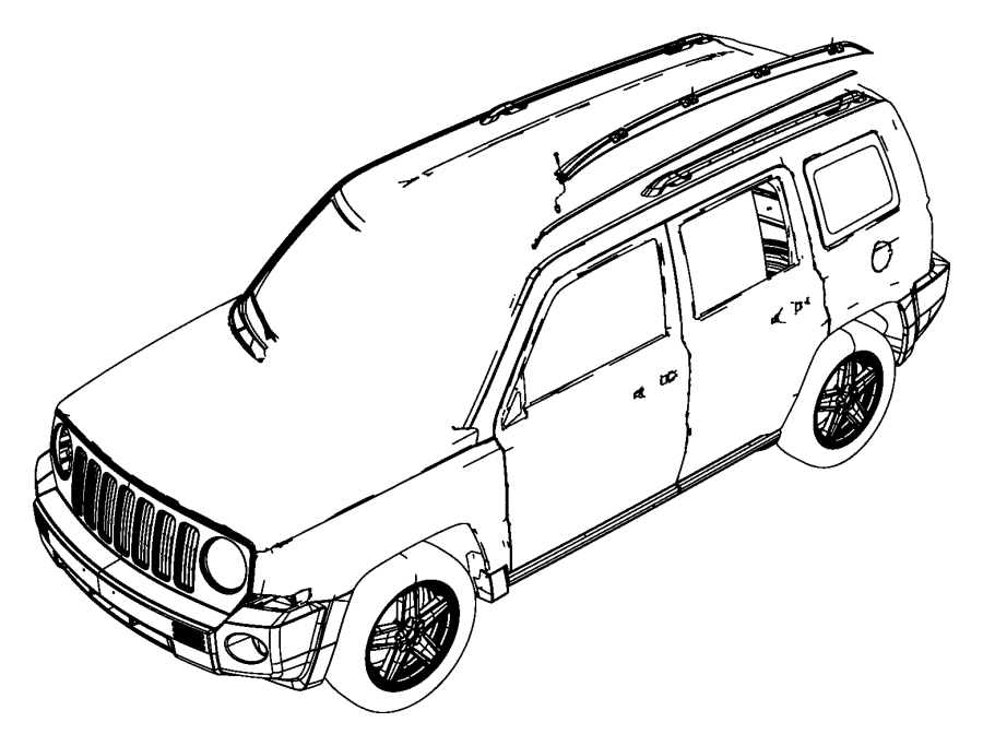 2015 jeep patriot body parts diagram  jeep  auto wiring