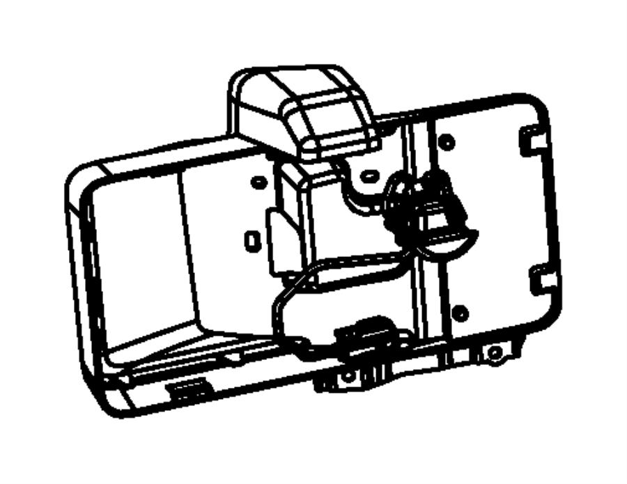 2016 jeep wrangler bracket  license lamp  after 10  13  08