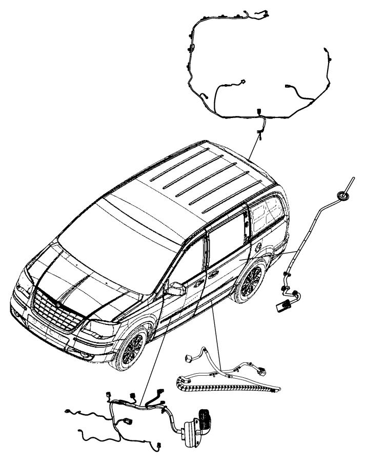 2008 Dodge Grand Caravan Liftgate Wiring Diagram