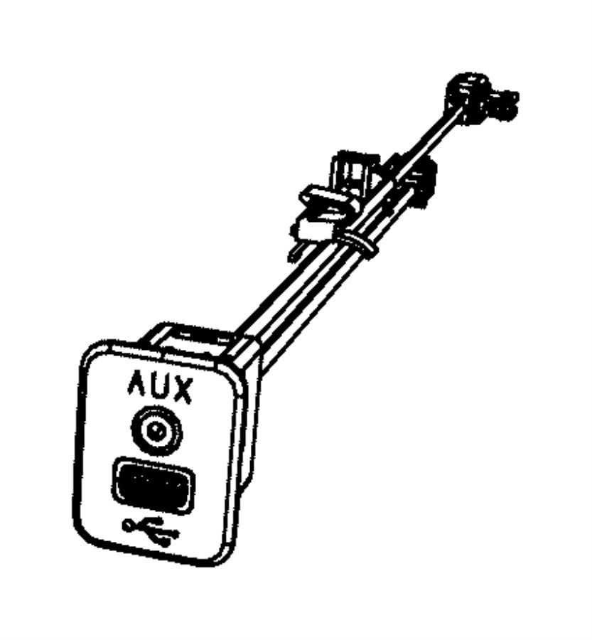 2013 dodge charger wiring  jumper  module   remote usb port    mini floor console   trim