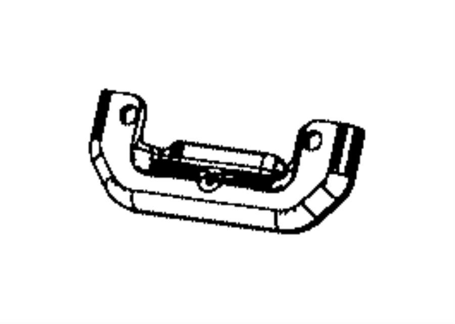 Chrysler Sebring Bracket  Catalytic Converter  Mounting