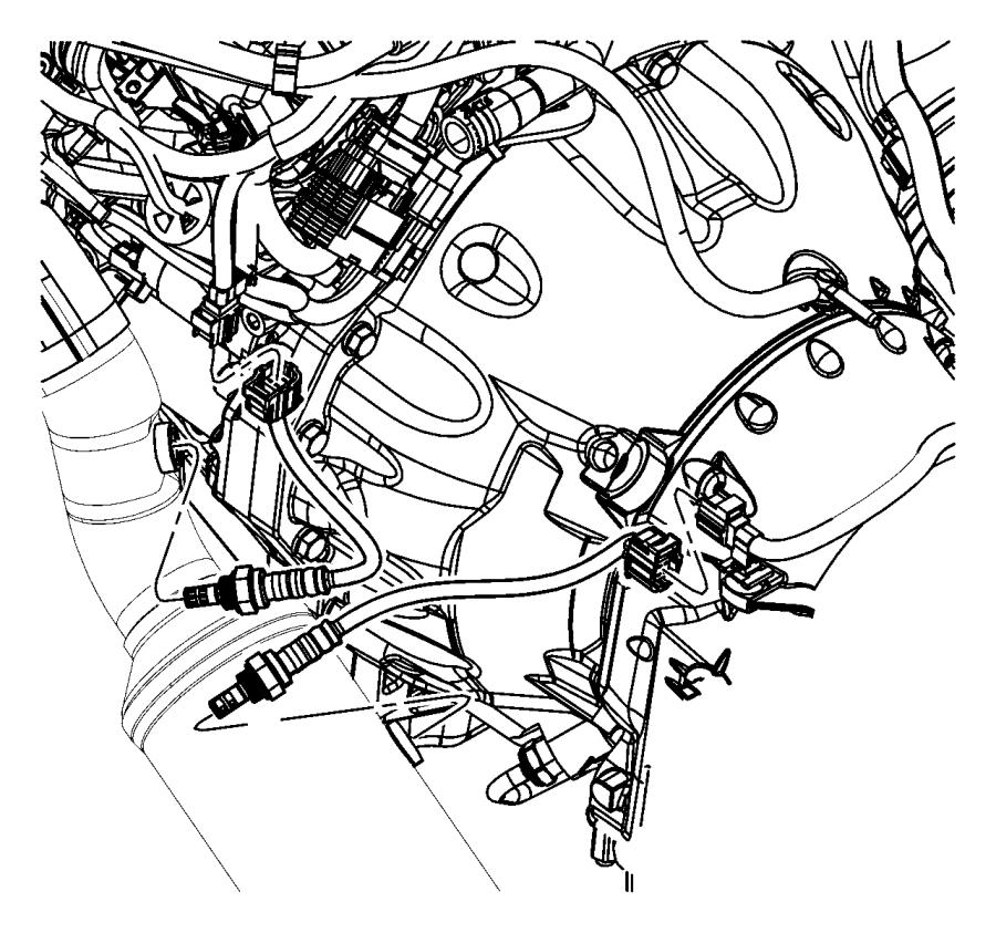 2012 Dodge Challenger Sensor After Catalyst Before