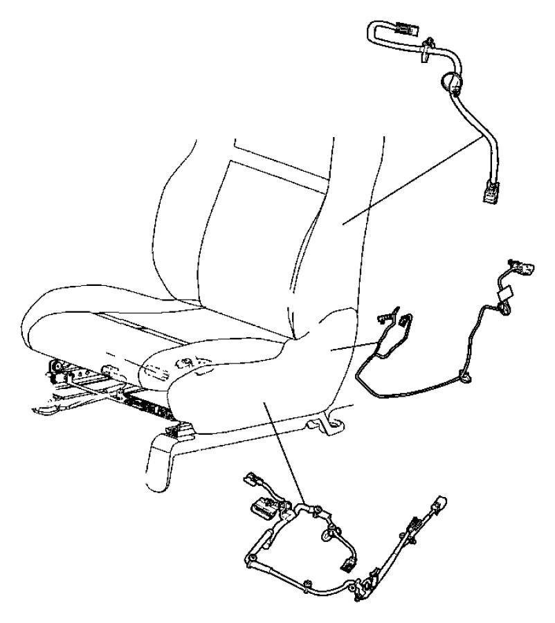 2012 dodge durango wiring power seat trim cloth low. Black Bedroom Furniture Sets. Home Design Ideas