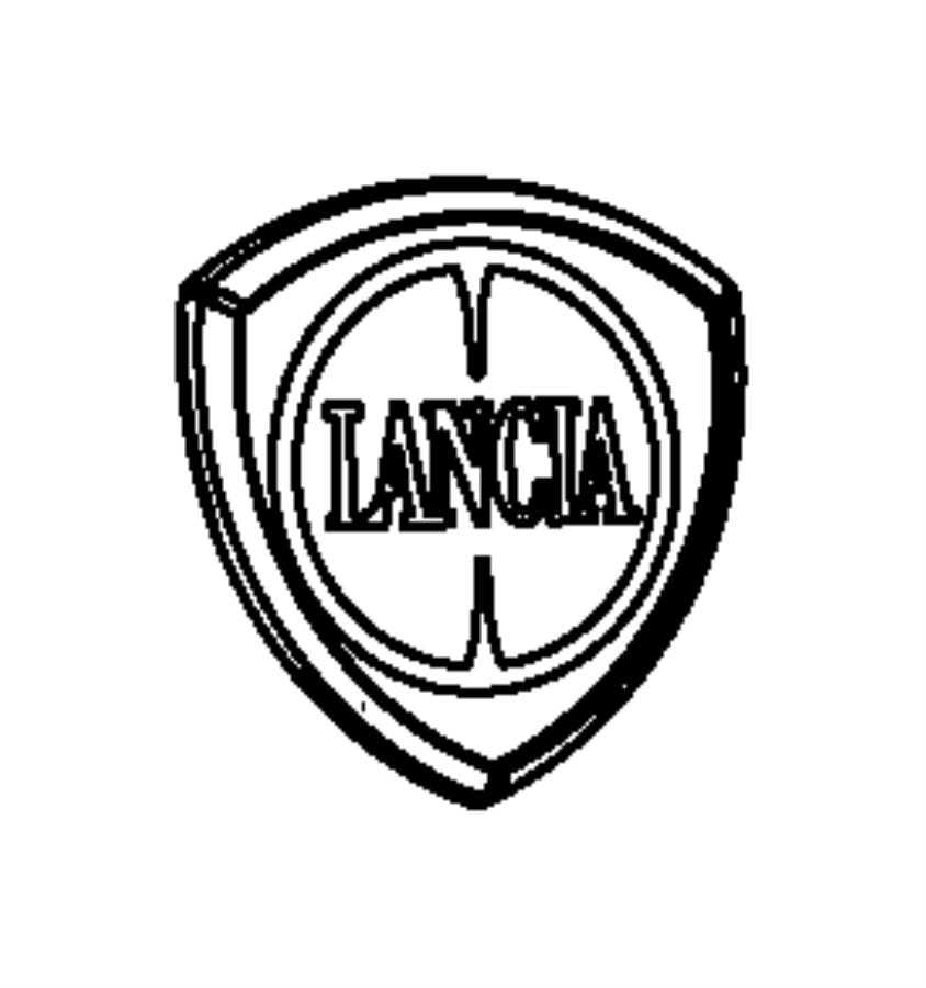 dodge avenger emblem  lancia  muc