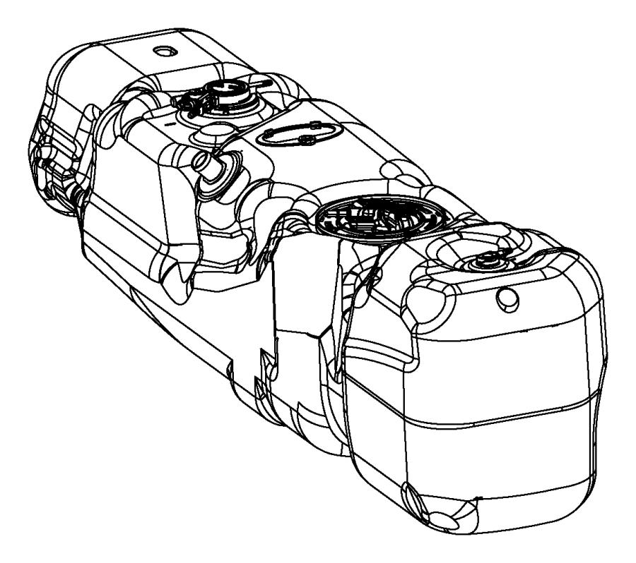 2012 dodge ram 1500 tank  fuel   35 gallon fuel tank
