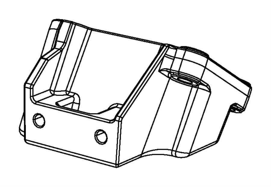 2013 dodge charger bracket  engine mount  left side