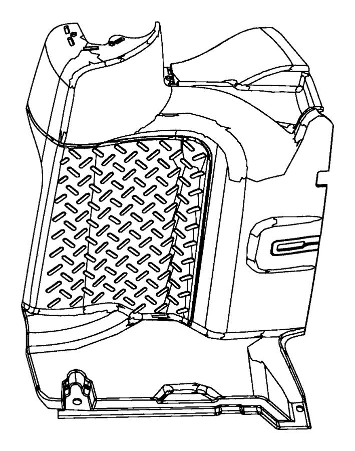 2011 jeep wrangler panel  quarter inner lower  left  right