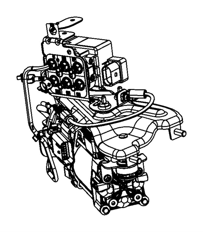 2013 jeep grand cherokee valve block  compressor