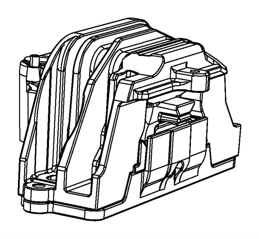 chrysler sebring engine mount  isolator  right  right side   5-speed manual t355