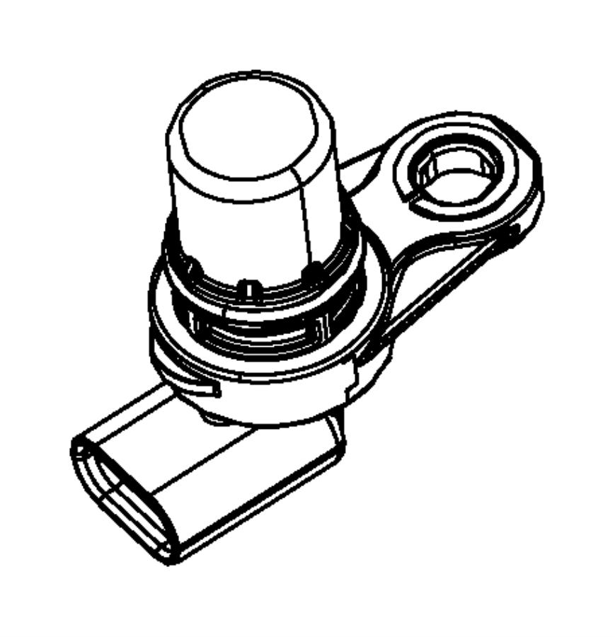 2013 Dodge Dart Sensor. Camshaft. Sensors, Engine, Intake