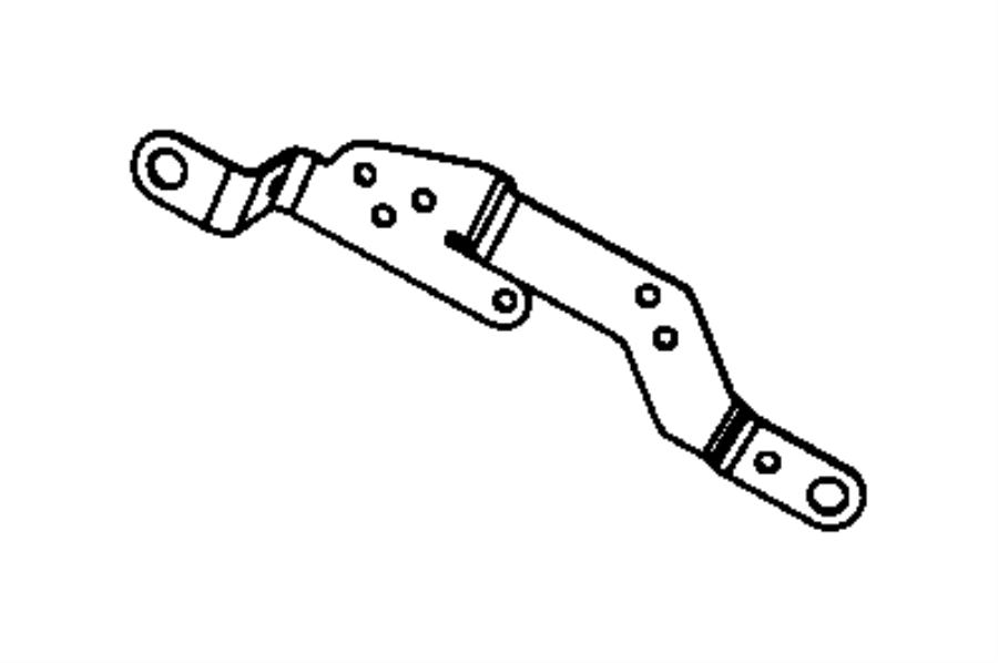 jeep grand cherokee bracket  engine wiring  injector harness  injector harness bracket
