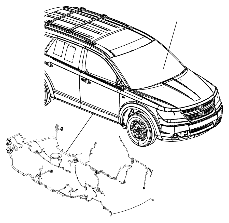 dodge journey wiring  unified body  conditioning  air  active