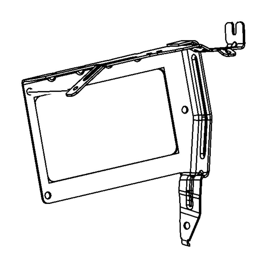 2013 dodge avenger bracket  controller