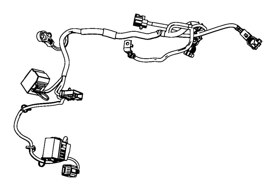 Dodge Avenger Wiring. Battery. Mopar - 04795599AJ   Myrtle ...