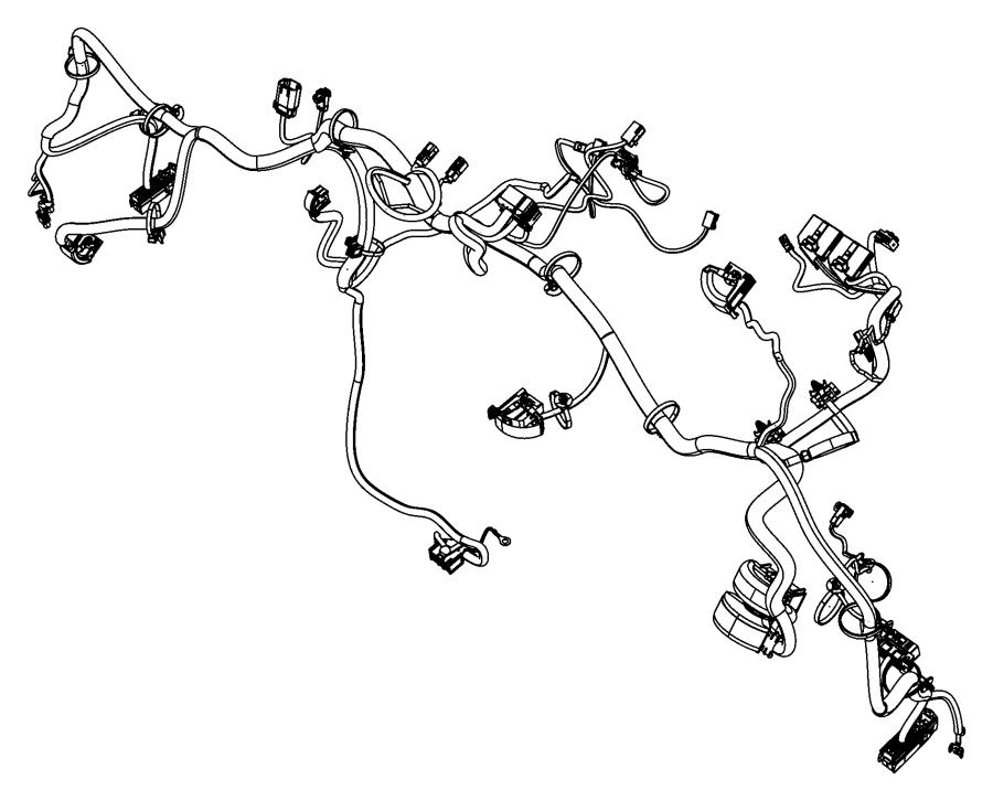 Fiat 500c Wiring  Instrument Panel