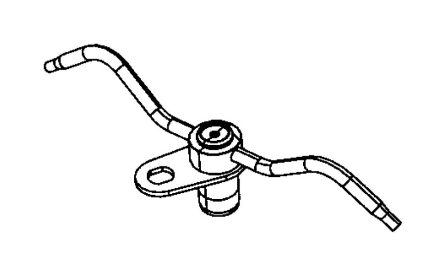 2017 jeep grand cherokee jet  piston oil cooler  engine  block  cylinder