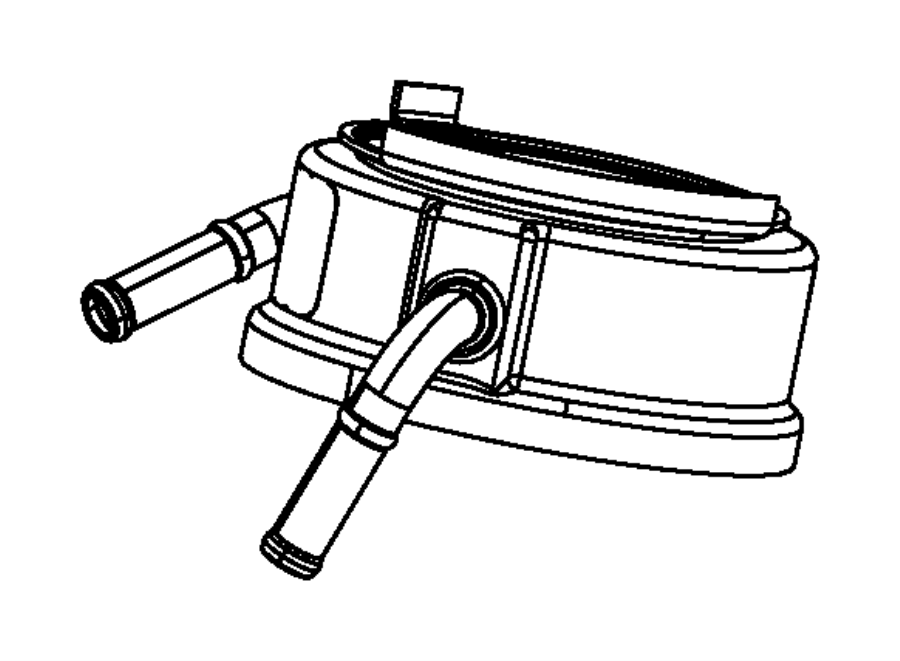 2013 dodge durango cooler  engine oil