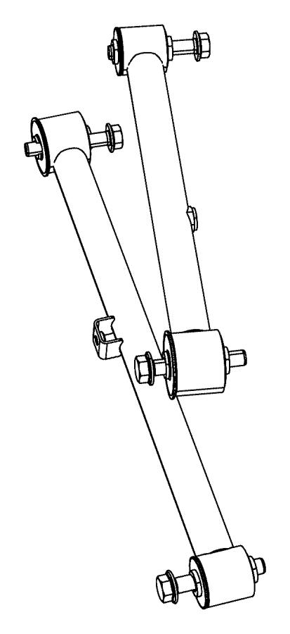 dodge ram 1500 arm  lower control  rear  suspension
