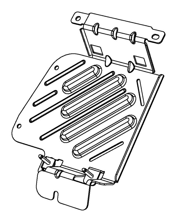 2013 Dodge Charger Transmission: 2013 Dodge Dart Bracket. Transmission Control Module