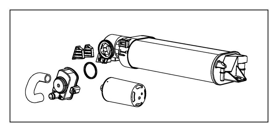 2010 dodge charger grommet  vapor canister mounting  detection  leak  pump