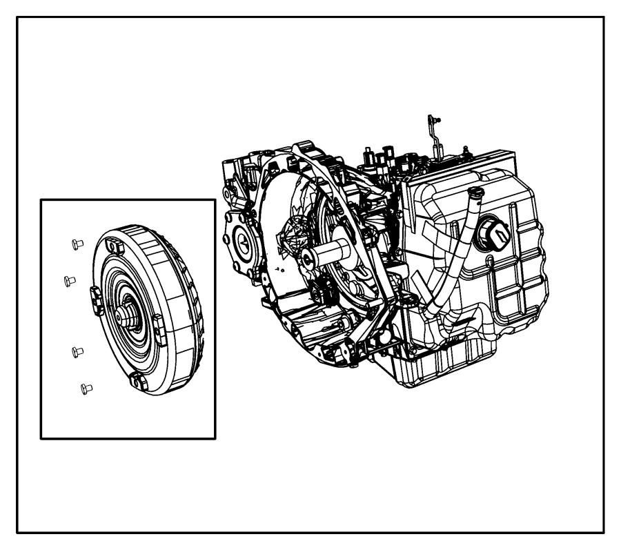 2011    Dodge    Journey Trans With torque converter