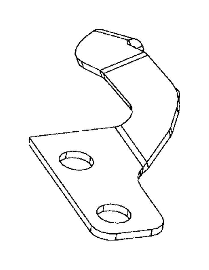 2016 dodge charger bracket  power steering pump  reservoir