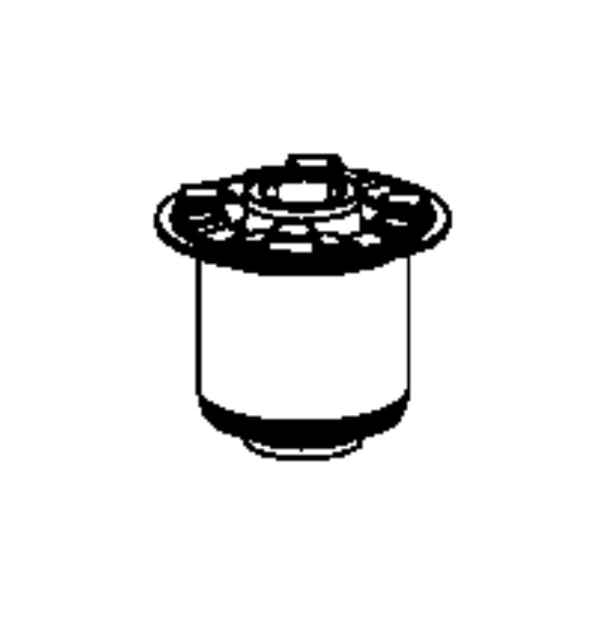 2009 chrysler sebring isolator  crossmember  front