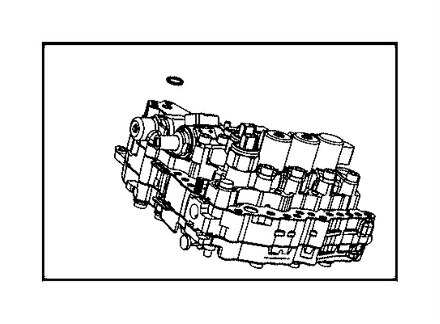 2008 jeep patriot valve body kit  transmission  service