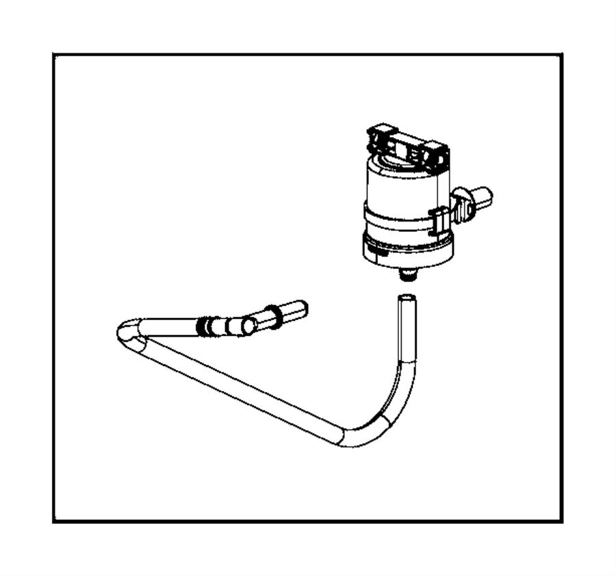 2014 ram 1500 filter  fuel vapor canister  fuel vapor vent