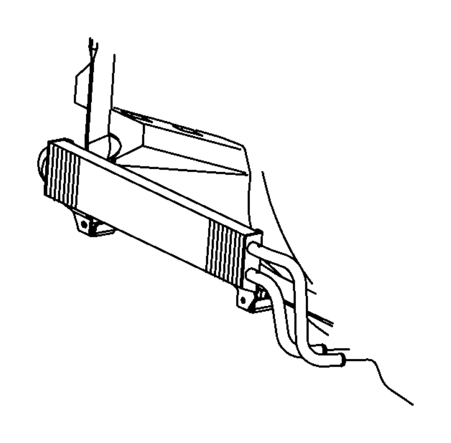 2014 ram 2500 cooler  power steering   power steering    front end parts module