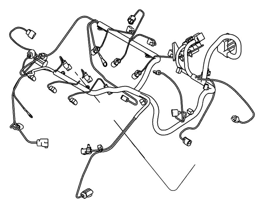 2013 dodge challenger wiring  engine  powertrain  mopar