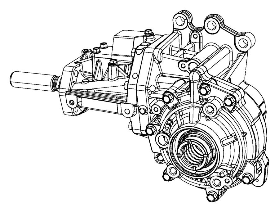 2014 jeep compass power transfer unit   6