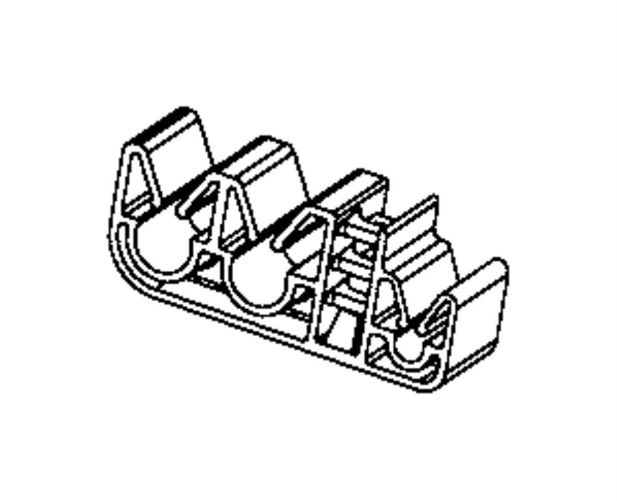 2014 Jeep Cherokee Clip  Wiring  Rear Wheel Speed Sensor Wiring  Wheel Speed Sensor