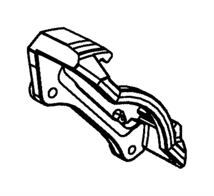 2012 dodge ram 3500 adapter  disc brake caliper  rear