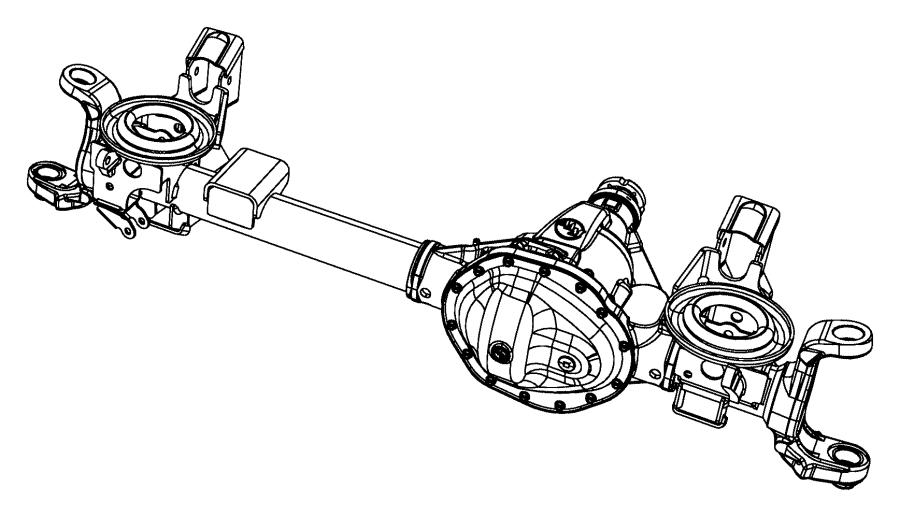 2014 ram 3500 axle  service front  rear  ratio
