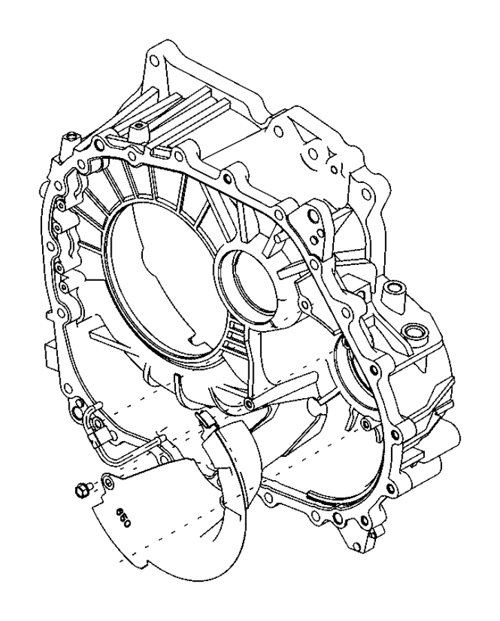 2014 jeep patriot guide  oil  transmission  train  module